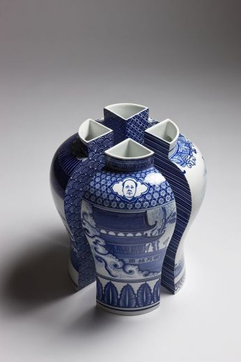 Deconstructed Vase