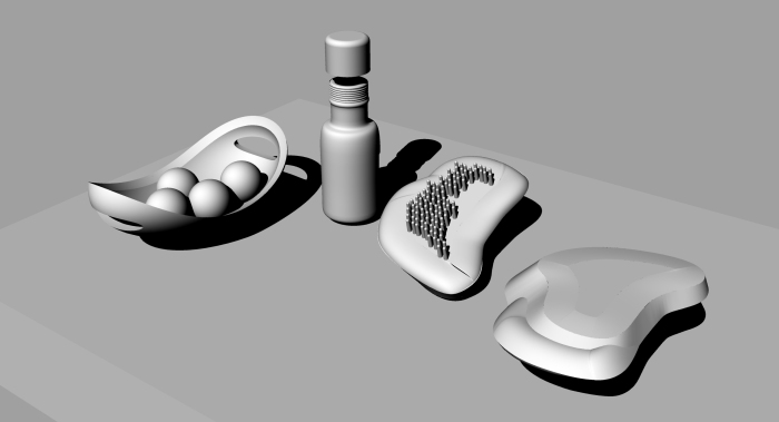 render objects