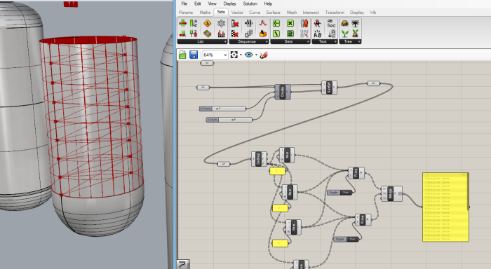 Replicating Truss Video on Rhino Model