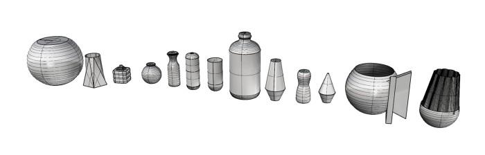 Rhino Vessel Models