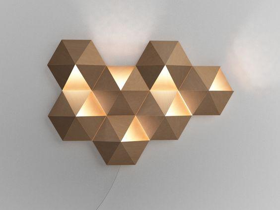 Ambihive Corrugated Cardboard Lamp