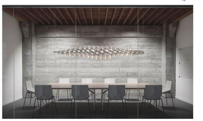 Parametric lamp design Client_ Private Architects