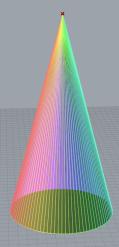 rainbow-cone