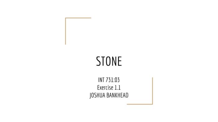 STONE 1.1